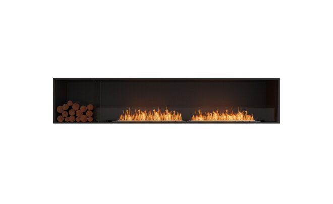 Decorative Box Left - Flex Fireplace Inserts by EcoSmart Fire