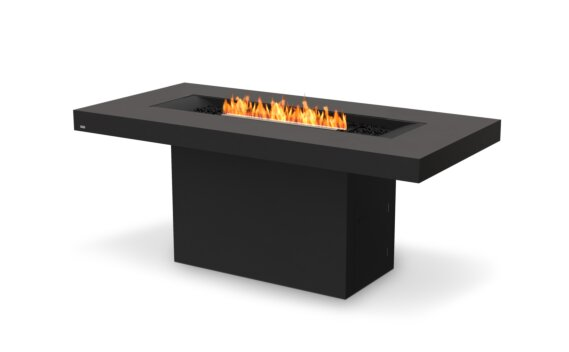 Gin 90 (Bar) Fire Table - Ethanol - Black / Graphite by EcoSmart Fire