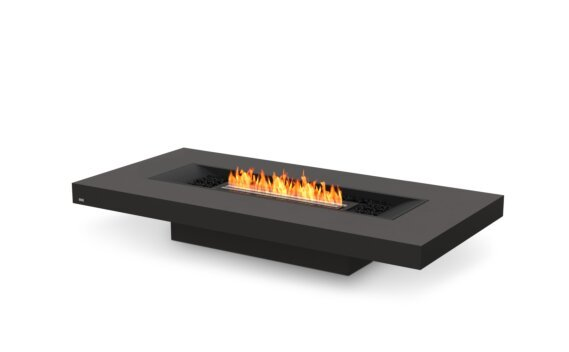 Gin 90 (Low) Fire Table - Ethanol - Black / Graphite by EcoSmart Fire
