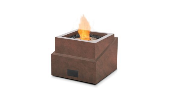 Step Fire Pit - Ethanol / Rust by EcoSmart Fire
