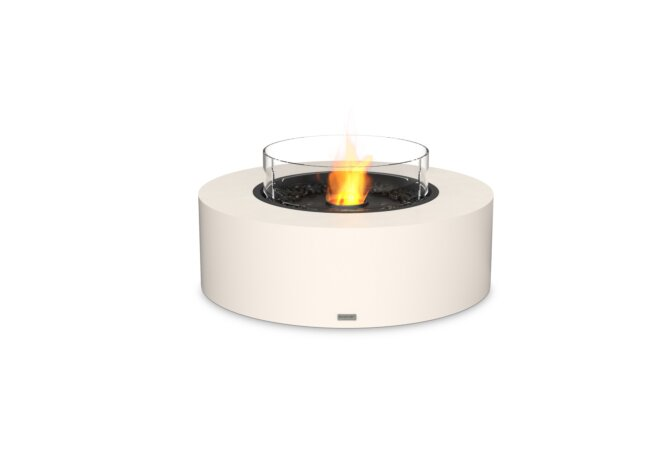 Ark 40 Fire Table - Ethanol - Black / Bone / Optional Fire Screen by EcoSmart Fire