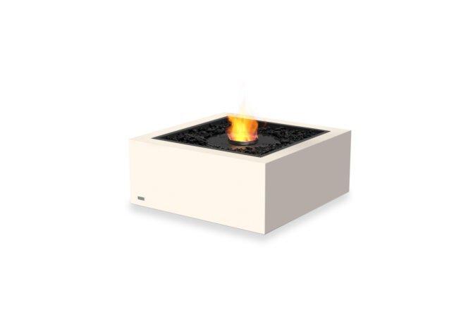 Base 30 Fire Table - Ethanol - Black / Bone by EcoSmart Fire