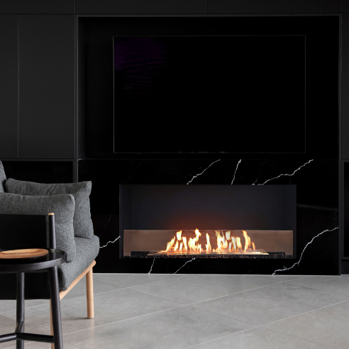 Single Sided Fireplace Inserts