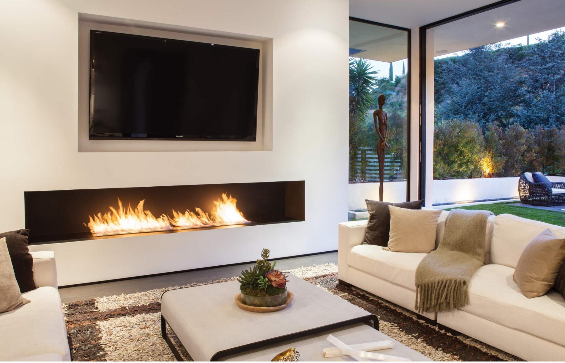 EcoSmart Fire Firebox 1200ss fireplace