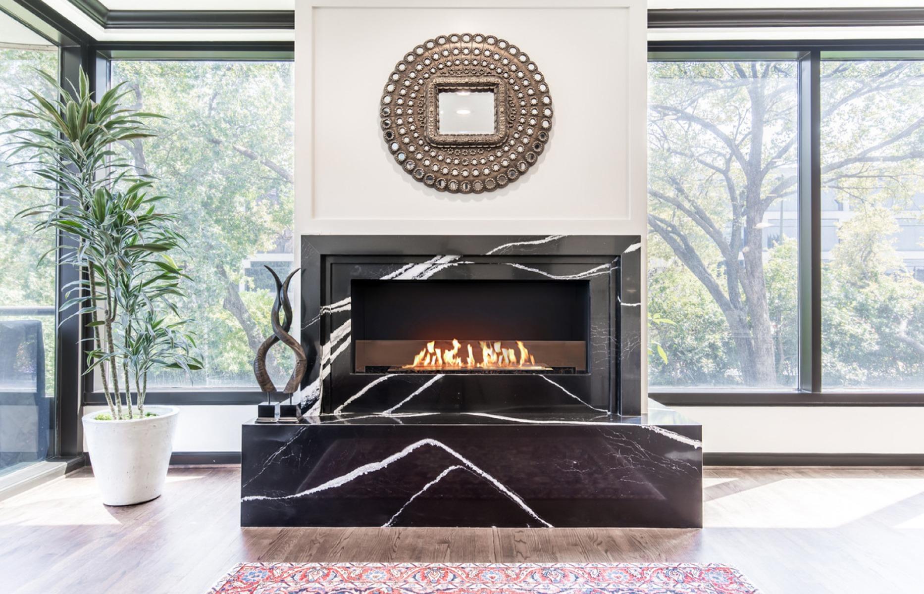 EcoSmart Fire Flex 50 Single Sided Fireplace Insert
