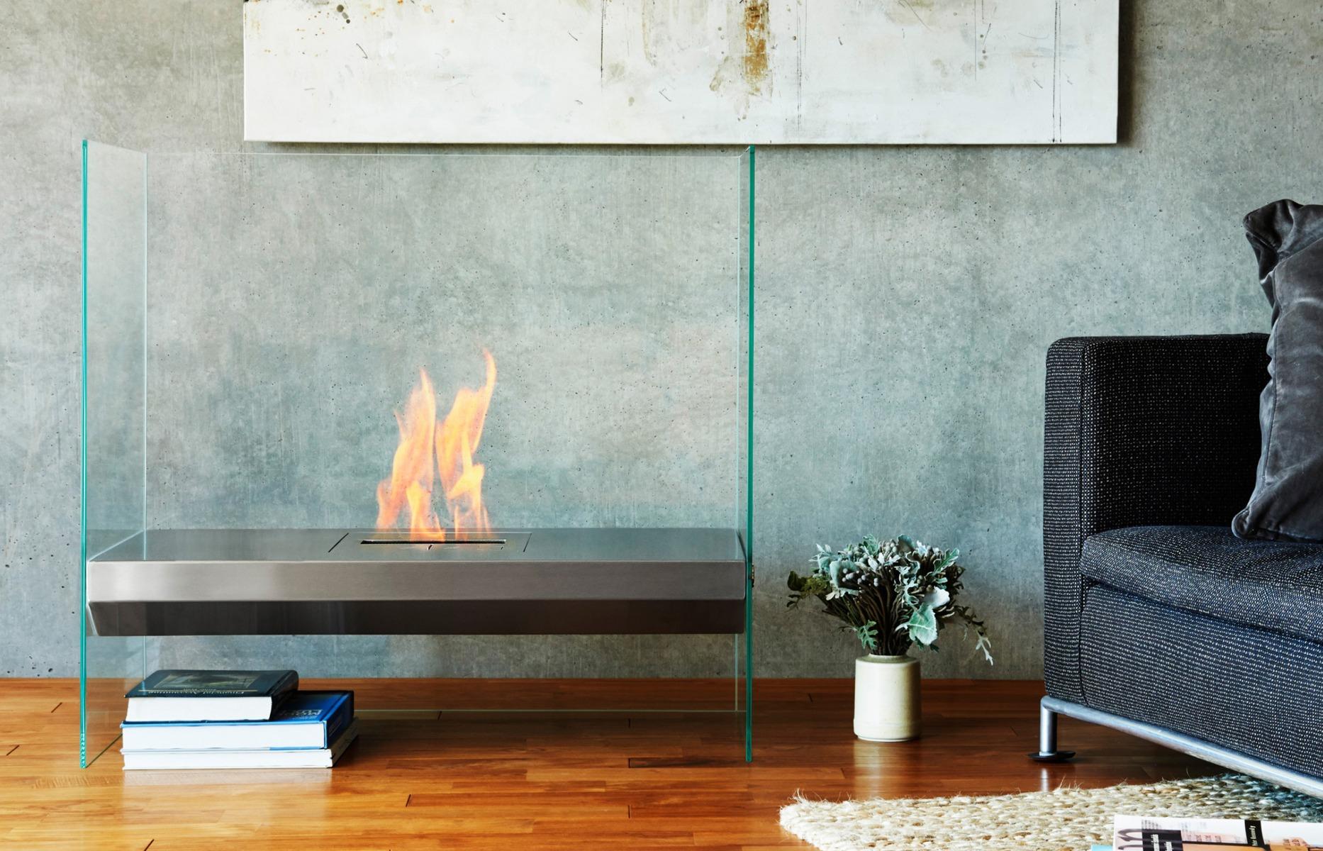 EcoSmart Fire Igloo BK5 Burner Designer Fireplace