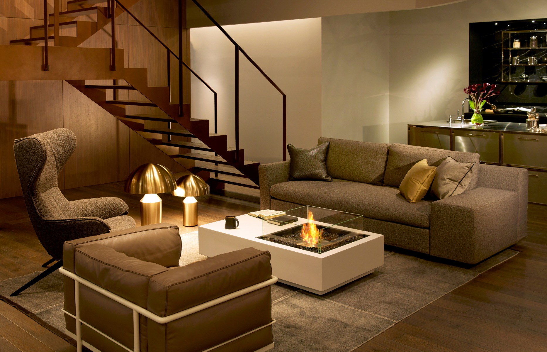 EcoSmart Fire Manhattan 50 fire table
